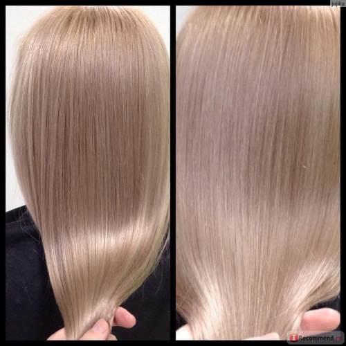 тонирование седых волос