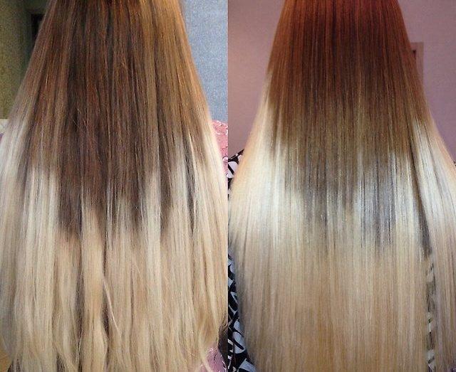 полировка секущихся концов волос