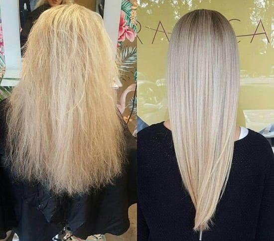полировка волос машинкой фото